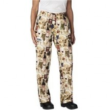 Chefwear 3150-203 Vintage Women's Low Rise Chef Pants