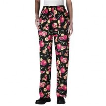 Chefwear 3150-206 Pomegranate Women's Low Rise Chef Pants