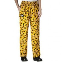 Chefwear 3150-21 Lemon Women's Low Rise Chef Pants