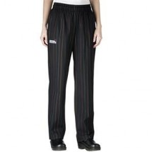 Chefwear 3150-26 Multistipe Women's Low Rise Chef Pants