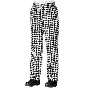 Chefwear 3150-41 Chantal Houndstooth Women's Low Rise Chef Pants