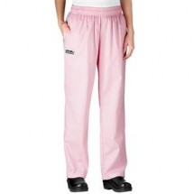Chefwear 3150-44 Pink Houndstooth Women's Low Rise Chef Pants