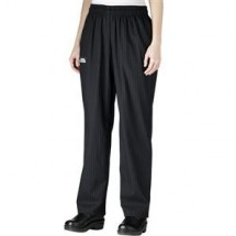 Chefwear 3150-50 Black/Grey Houndstooth Women's Low Rise Chef Pants
