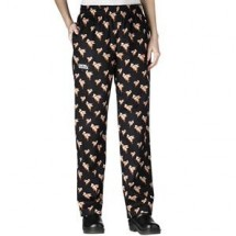 Chefwear 3150-87 Flying Pigs Women's Low Rise Chef Pants