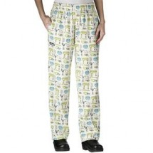 Chefwear 3150-94 Mix It Up Women's Low Rise Chef Pants