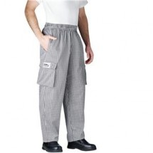 Chefwear 3200-10 Black/White Houndstooth Cargo Pants