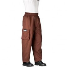 Chefwear 3200-15 Chocolate Cargo Pants