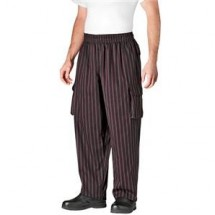 Chefwear 3200-61 Toque Stripe Cargo Pants
