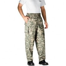 Chefwear 3270-52 Grey Camo Performance Chef Pants