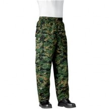 Chefwear 3270-54 Green Camo Performance Chef Pants