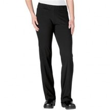 Chefwear 3350-30 Black Women's Yoga Fusion Pant