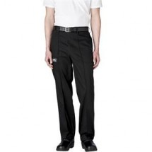 Chefwear 3640-30 Black Tailored Chef Pants