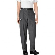 Chefwear 3640-32 Charcoal Tailored Chef Pants