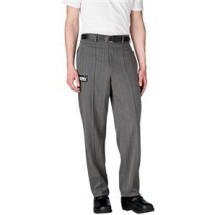 Chefwear 3640-64 Black Herringbone Tailored Chef Pants