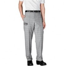 Chefwear 3640-93 Glenn Plaid Tailored Chef Pants