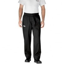 Chefwear 3900-30 Black Traditional Cut Chef Pants