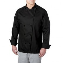 Chefwear 4020-BL Black 5 Star Lightweight Jacket