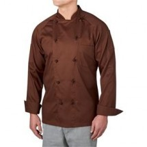 Chefwear 4020-BR Brown 5 Star Lightweight Jacket
