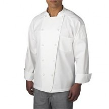 Chefwear 4020 White 5 Star Lightweight Jacket