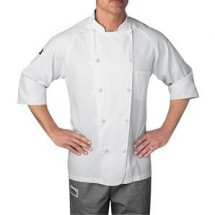 Chefwear 4025-WH White Lightweight 3/4 Sleeve Jacket