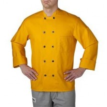 Chefwear 4410-114 Gold Three Star Plastic Button Jacket