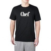 Chefwear 4630-30 Black Chef Shirt