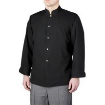 Chefwear 4930 Black Single Breasted Barwear Jacket