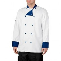 Chefwear 5000-116 Royal Blue Lined Traditional Jacket
