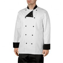 Chefwear 5000-30 Black Lined Traditional Jacket