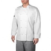 Chefwear 5000-40 White Lined Traditional Jacket