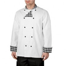Chefwear 5000-41 Chantal Houndstooth Lined Traditional Jacket
