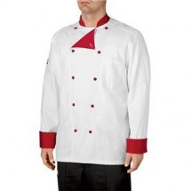 Chefwear 5000-78 Red Lined Traditional Jacket