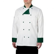Chefwear 5000-79 Green Lined Traditional Jacket