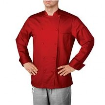 Chefwear 5005-120 Red Traditional Organic Jacket