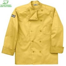 Chefwear 5005-122 Honey Traditional Organic Jacket