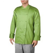Chefwear 5005-123 Avocado Traditional Organic Jacket