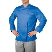 Chefwear 5005-140 Blue Traditional Organic Jacket