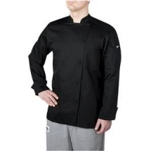 Chefwear 5005-30 Black Traditional Organic Jacket