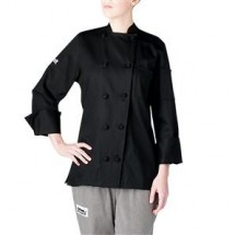 Chefwear 5020-BK Womens Black Lightweight Jacker