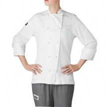 Chefwear 5020-WH Womens White Lightweight Jacker
