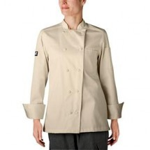 Chefwear 5021-FV French Vanilla Womens Organic Jacket