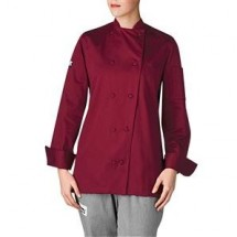 Chefwear 5021-PL Plum Womens Organic Jacket