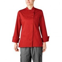Chefwear 5021-RD Red Womens Organic Jacket