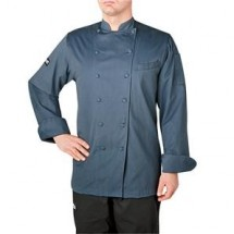 Chefwear 5070-BL Steel Blue Windsor Chef Jacket
