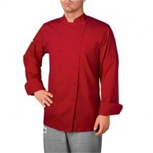 Chefwear 5070-RD Red Windsor Chef Jacket