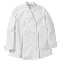 Chefwear 5230 White Women's Maternity Jacket