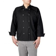 Chefwear 5600-BK Black Button-tab Jacket