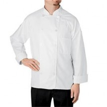 Chefwear 5600-WH White Button-tab Jacket