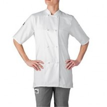 Chefwear 5615-WH White Women's Cloth Jacket