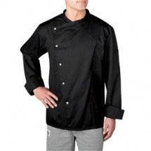 Chefwear 5620-BK Black Four Star Snap Jacket